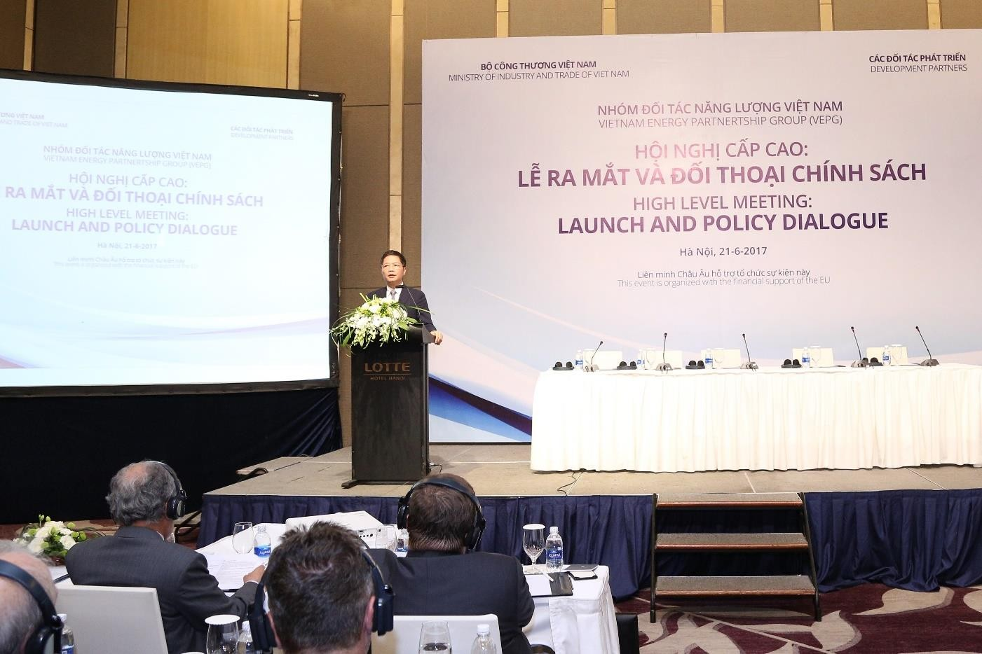 Opening speech by Minister Trần Tuấn Anh